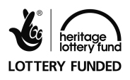 Image of the Heritage Lottery Fund logo - hand with the fingers crossed