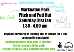 Image of flyer for the Markeaton Park community event