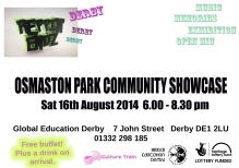 Osmaston Park community event invite.