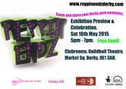 Invitation to exhibition preview.